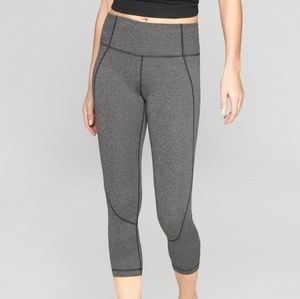 Athleta Salutation Carpis- Gray- size medium NWOT